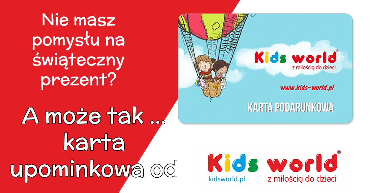 Karata Upominkowa kids world
