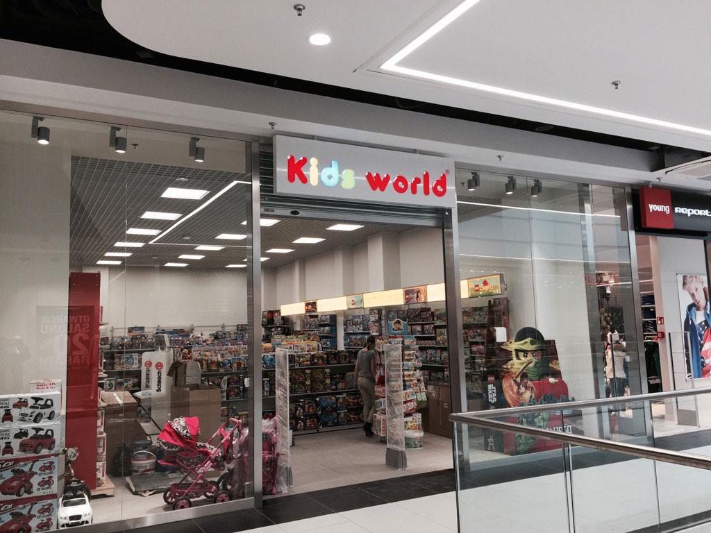 Sklep z zabawkami Kids World Galeria Jurowiecka Białystok