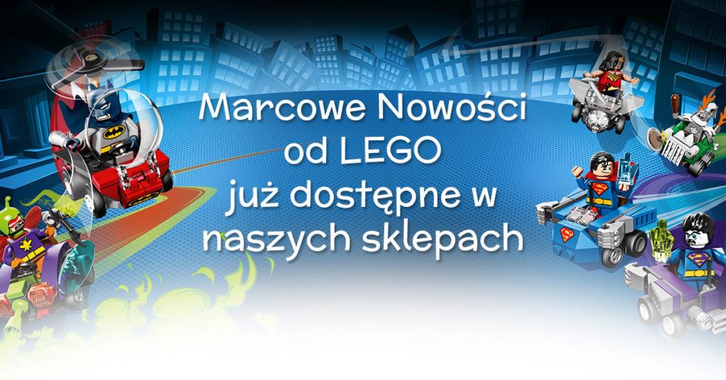 Marcowe nowości od LEGO