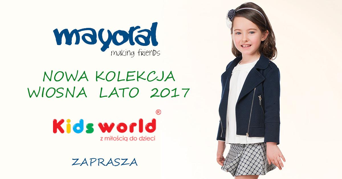 Nowa kolekcja Mayoral Wiosna Lato 2017