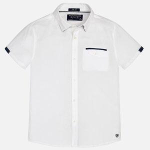 Gładka koszulka z krótkim rękawem