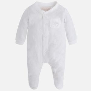 Piżamka chłopięca z guzikami