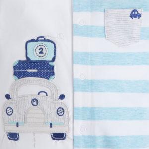 Piżamki chłopięce - komplet dwóch sztuk