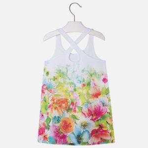 Sukienka ze skrzyżowanymi ramiączkami