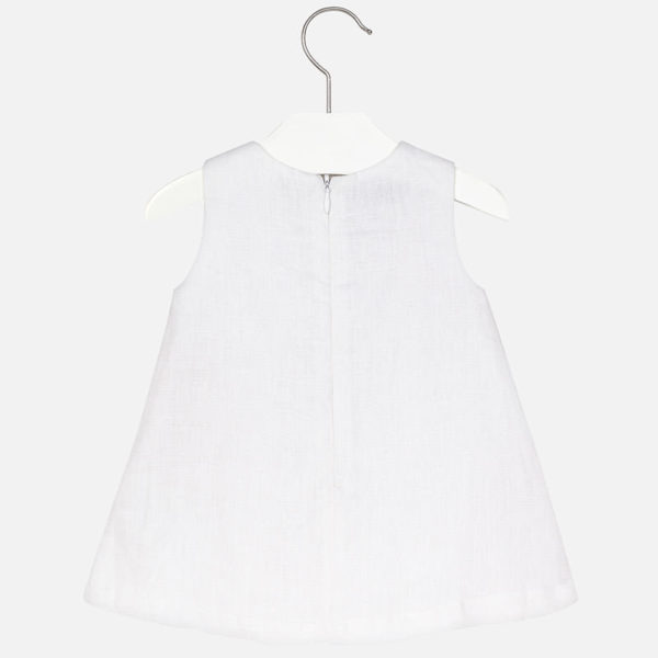 Sukienka bez rękawów w koła