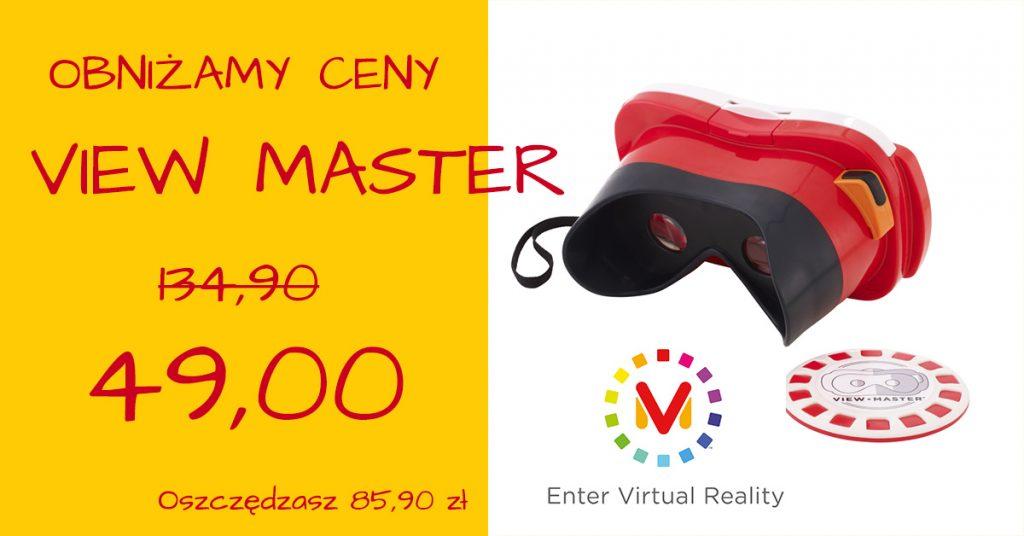 Obniżamy ceny na gogle View Master od Mattela