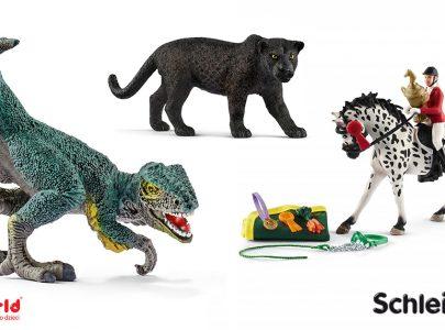 Dinozaury, konie, dzikie zwierzęta czyli Schleich i jego nowości na 2017 rok
