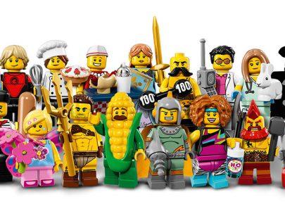 Nowe Minifigurki od LEGO – Seria 17 (71018)