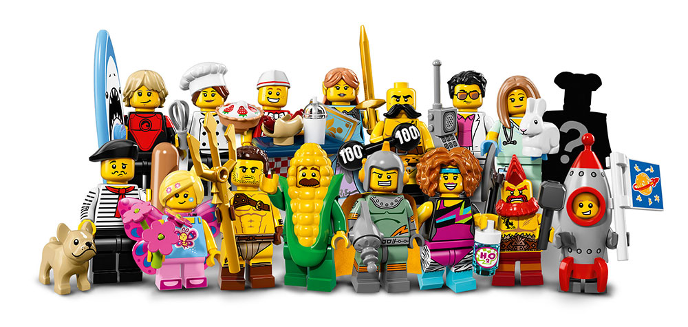 LEGO Minifigures Seria 17 710 18