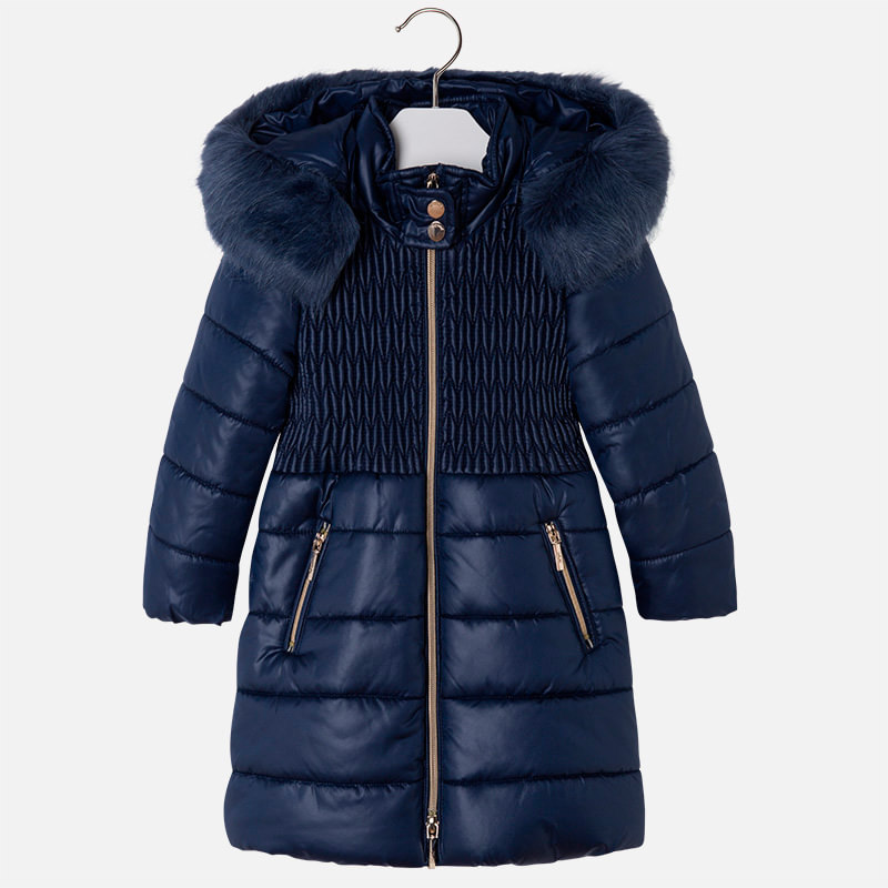 1f8bc35414ceb pl]Długa kurtka dla dziewczynki z kapturem[:] · Kids World Sklep z ...