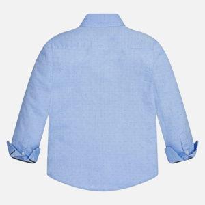 Koszula z długim rękawem z materiału oxford