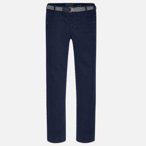 Spodnie klasyczne z paskiem dla chłopca