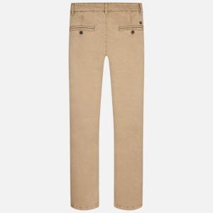Spodnie z serży z długą nogawką