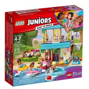 LEGO 10763 Juniors Domek nad jeziorem Stephanie
