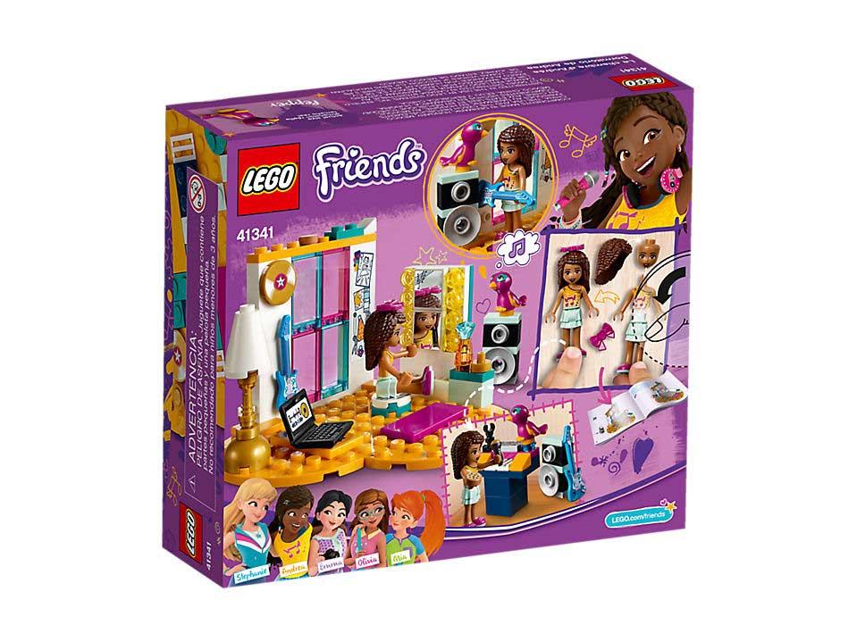Lego 41341 Friends Sypialnia Andrei Kids World Sklep Z Zabawkami