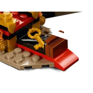 LEGO 70651 NINJAGO Starcie w sali tronowej