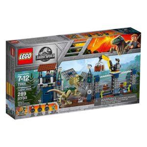 LEGO 75931 Jurassic World Atak dilofozaura na posterunek