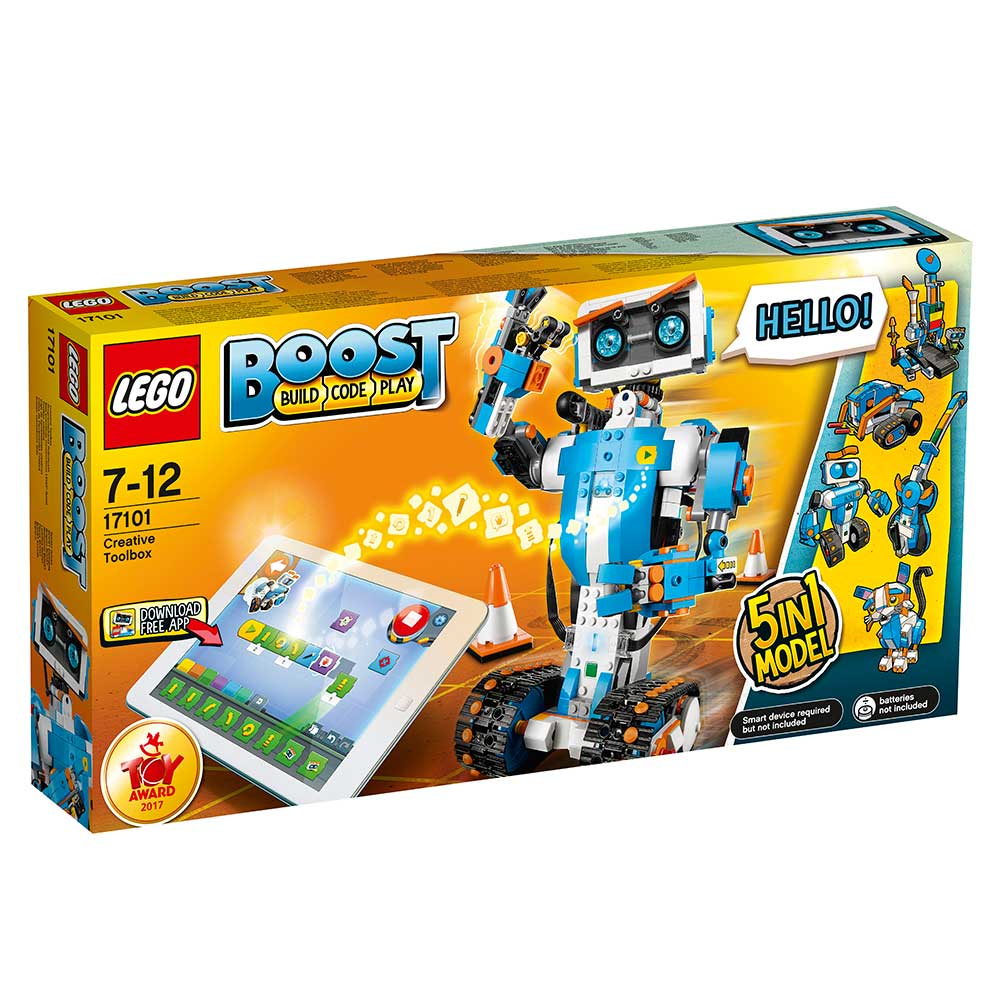 Lego Boost 17101 Zestaw Kreatywny Kids World Sklep Z Zabawkami
