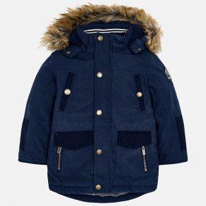 Mayoral Długa kurtka typu parka dla chłopca