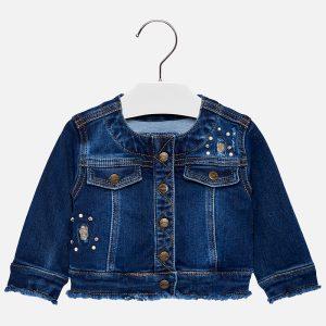 Mayoral Kurtka jeansowa dla dziewczynki