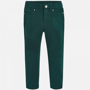 Mayoral Spodnie z dzianiny regular fit dla dziewczynki