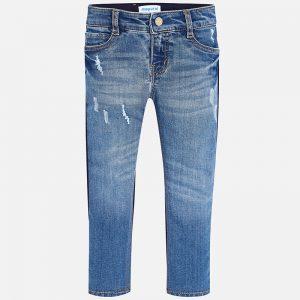 Mayoral Spodnie łączone regular fit dla dziewczynki