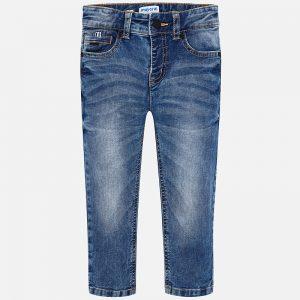 Mayoral Spodnie jeansowe slim fit dla chłopca