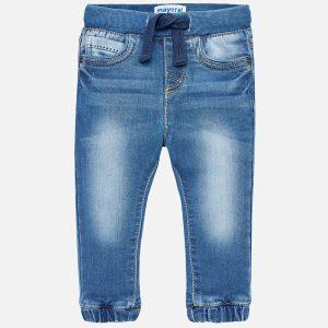 Mayoral Spodnie jeansowe jogger fit dla chłopca