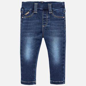 Mayoral Spodnie super skinny fit jeansowe dla dziewczynki