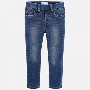 Mayoral Spodnie super slim fit jeansowe dziewczęce