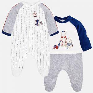 Mayoral Zestaw dwóch piżamek dla chłopca