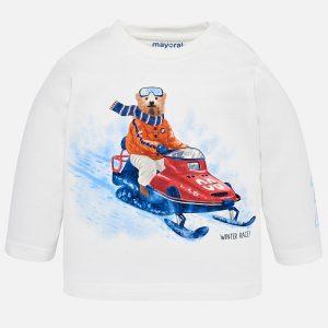 Mayoral Koszulka winter z długim rękawem dla chłopca