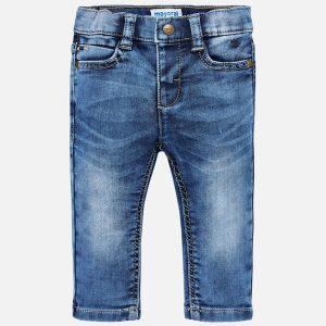 Mayoral Spodnie soft denim dla chłopca Slim fit