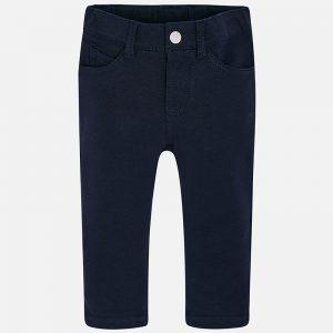 Mayoral Spodnie super skinny fit dla dziewczynki z dzianiny