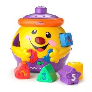 Garnuszek na klocuszek - muzyczna zabawka
