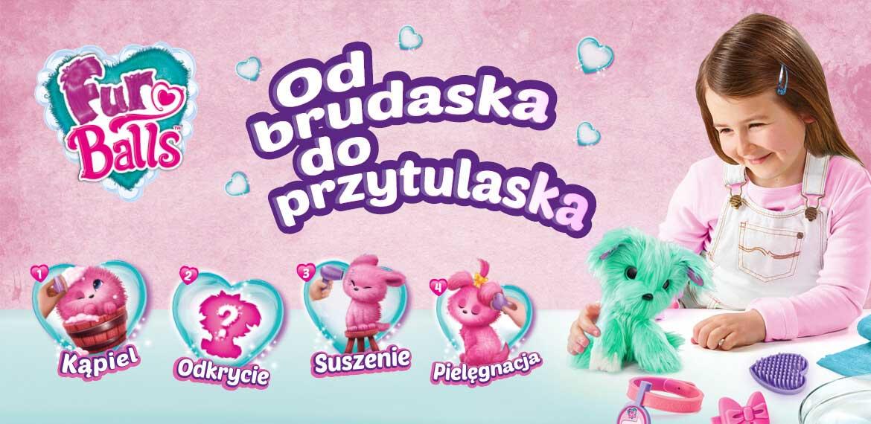 FurBalls Od brudaska do przytulaska zabawka