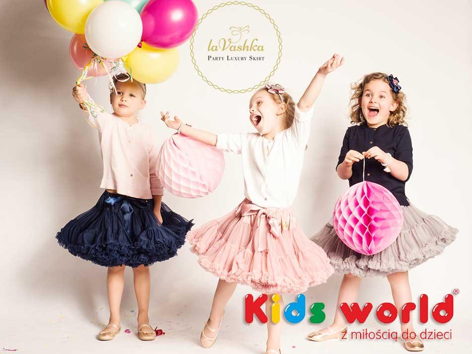 Spódnice LaVashka dla dziewczynek Sklep Kids World
