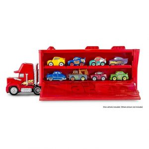 Disney Pixar Cars FLG70 Mikroauta Transporter