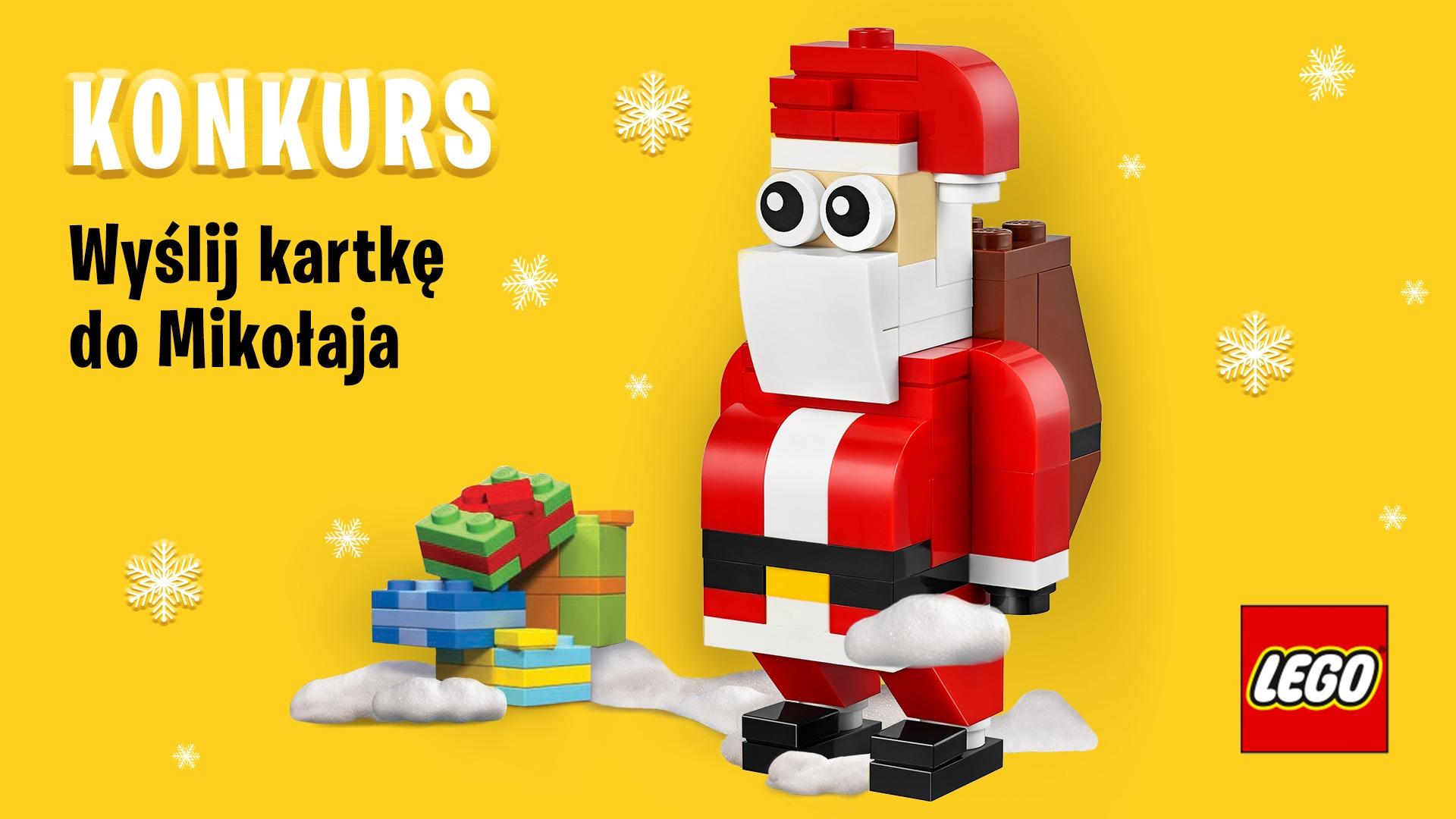 LEGO Konkurs Wyślij list do Mikołaja