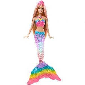 Barbie Lalka Tęczowa Syrenka Mattel DHC40