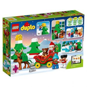 LEGO DUPLO 10837 Zimowe ferie Świętego Mikołaja
