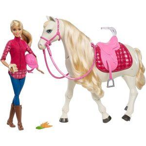Barbie Lalka Barbie i jej interaktywny koń