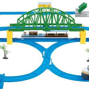 DUMICA 20400 Kolejka Deluxe 63el Bridge Train Set