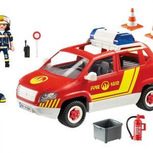 Playmobil Samochód komendanta straży pożarnej 5364