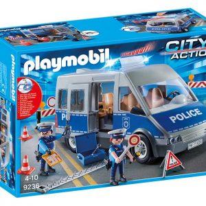 PLAYMOBIL 9236 Samochód policyjny z blokadą