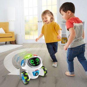 FISHER PRICE DRN78 Movie Mistrz zabawy, Zabawka interaktywna, Robot