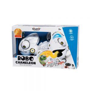 SILVERLIT 88538 Robo Chameleon Zabawka Interaktywna Robot