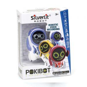 SILVERLIT Zabawka Interaktywna Robot Pokibot