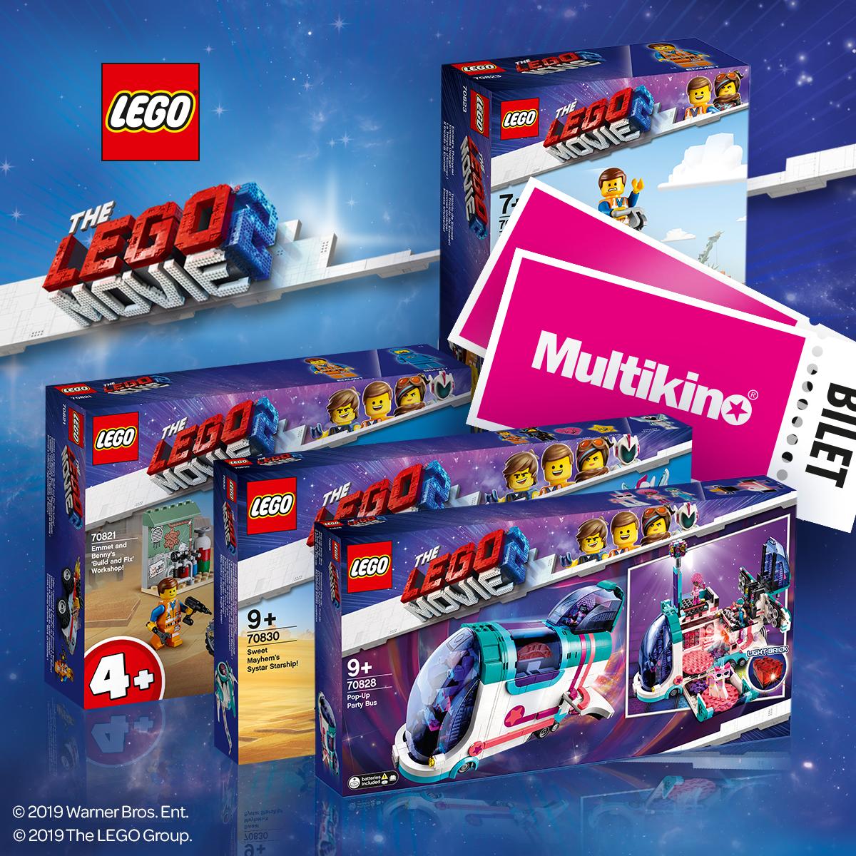Klocki LEGO Promocja filmu LEGO Movie 2
