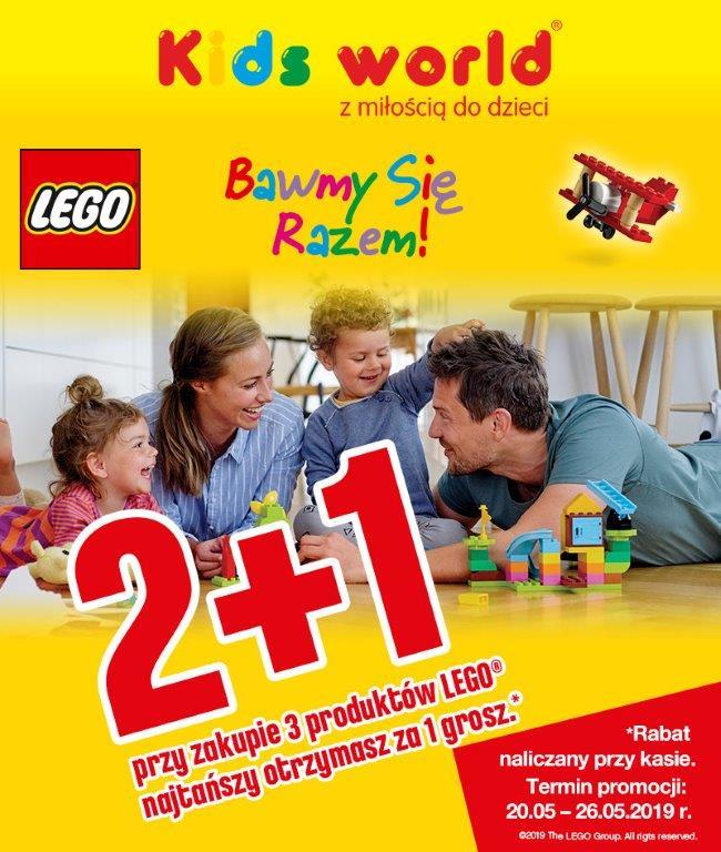 Promocja LEGO w sklepie z zabawkami Kids World